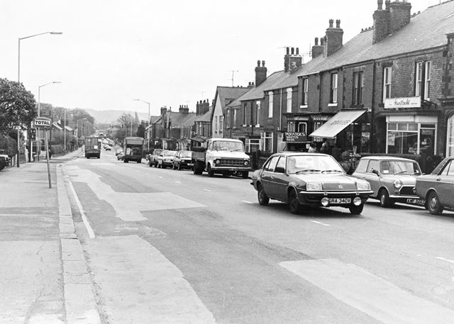 Chatsworth Road, Brampton, Chesterfield, 1991
