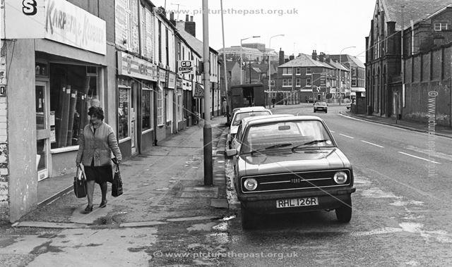 Chatsworth Road, Brampton, Chesterfield, 1983