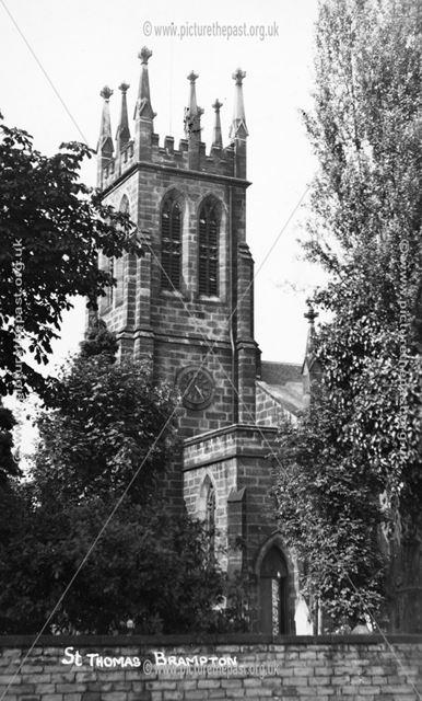 St Thomas's Church, Brampton, c 1920