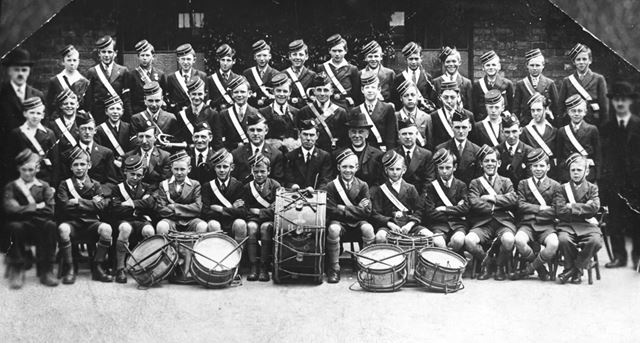 1st Chesterfield Company Boys Brigade, Brampton, Chesterfield, 1928
