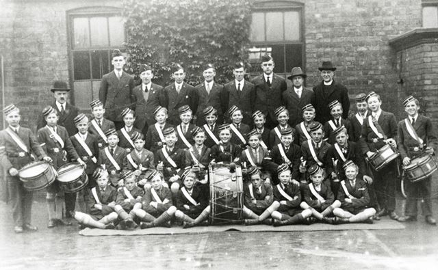 1st Chesterfield Company Boys Brigade, Brampton, Chesterfield, c 1920s