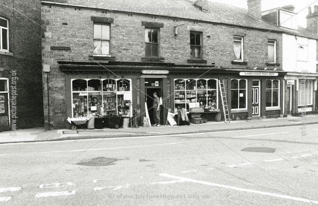 Station Road Shops, Eckington, 1999