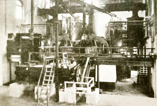 Sulphate House at Staveley's Power works