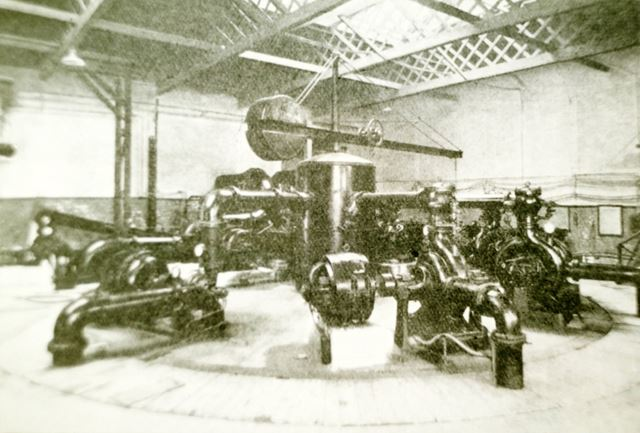 Interior of the Pump House at Staveley's Power works