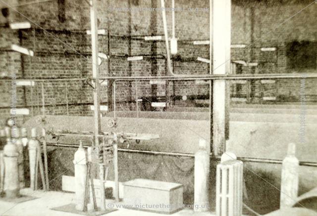 Chlorine Storage Vessels and Cylinder filling station at the Devonshire works