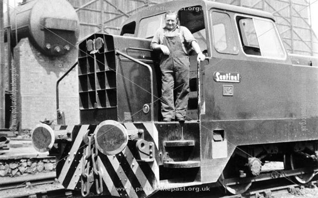 Sentinel Shunter and Driver