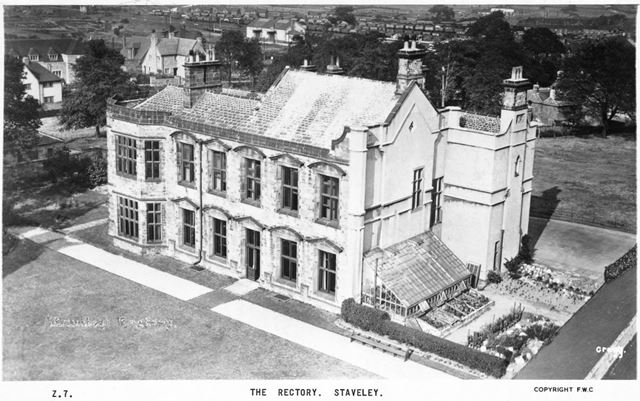 Staveley Rectory, Staveley