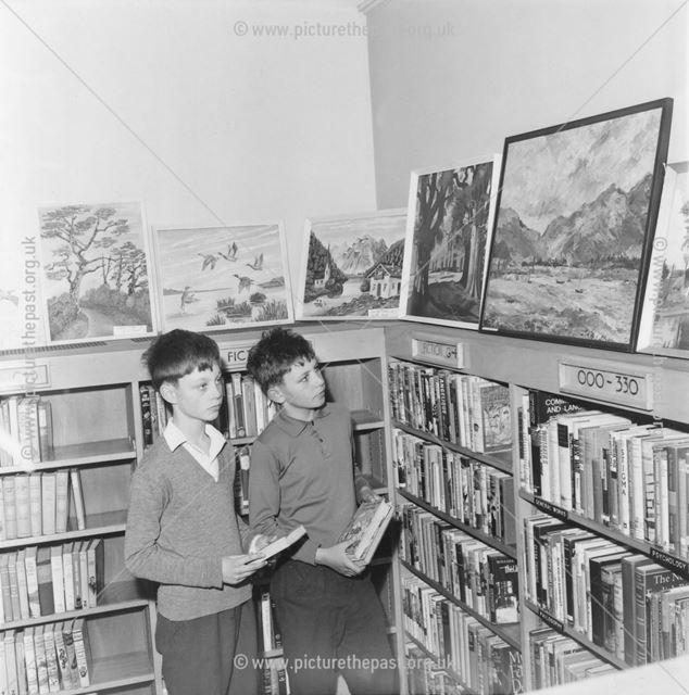 Holmewood Miner's Welfare Art Exhibition, Holmgate Road, Clay Cross, 1967
