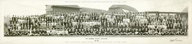 Eckington Grammar School, Halfway Drive, Eckington, 1947