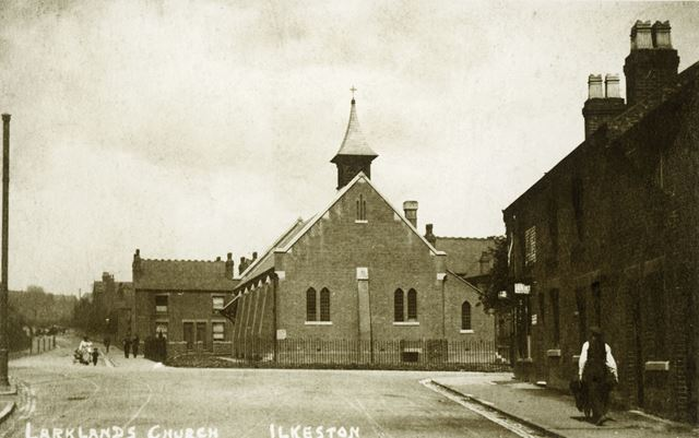 All Saints' Church, Park Road, Ilkeston, c 1914