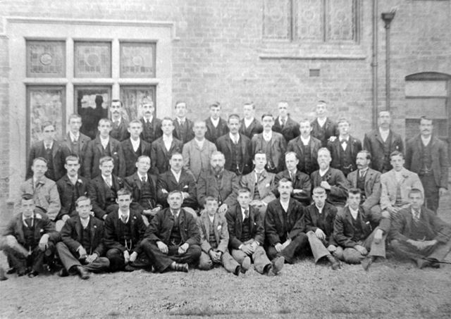 Methodist Church Primitive Bible Clan, Bath Street, Ilkeston, c 1895