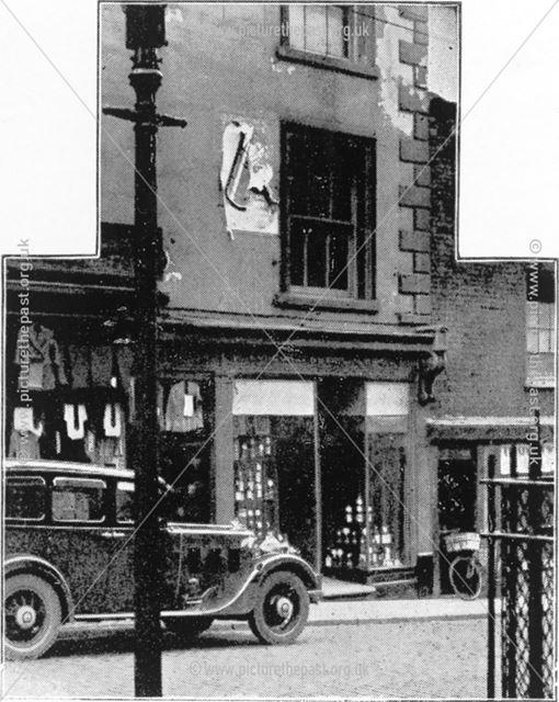 The First Co-Op Shop, Bath Street, Ilkeston c 1937