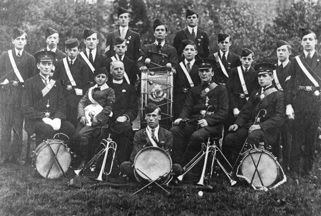 Boys Brigade, Ilkeston, c 1914