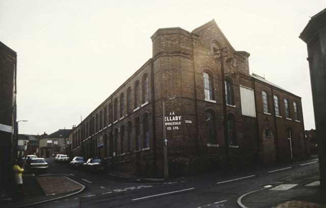 Maltby's Factory, Station Road, Ilkeston, 1984