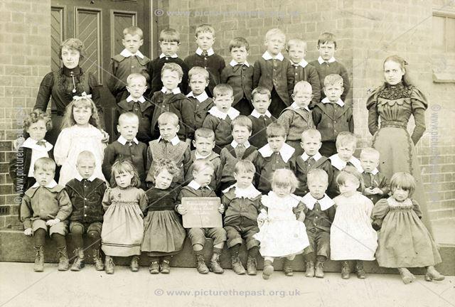 Cotmanhay Road Infants School, Ilkeston, c 1913 ?