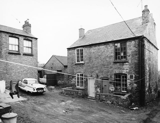 Sissons Yard, Ilkeston, 1968
