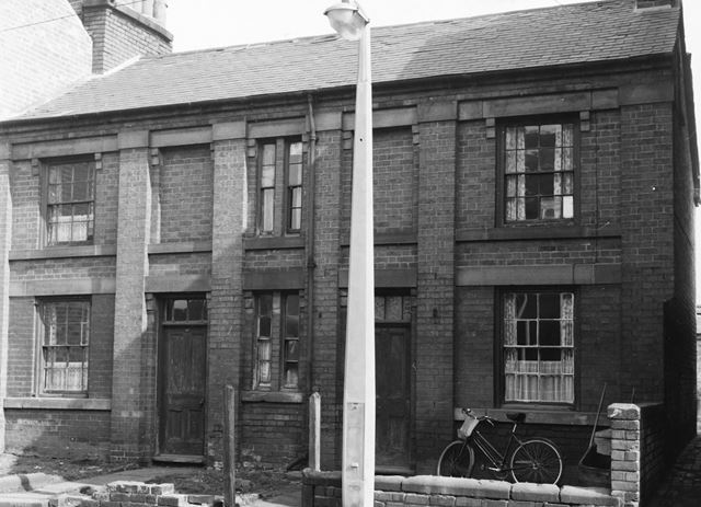 Burr lane, Ilkeston, c 1958