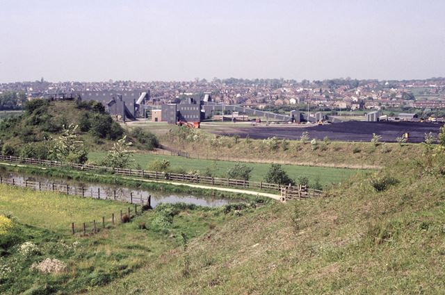View towards Bennerley and Cotmanhay, Awsworth, 1992