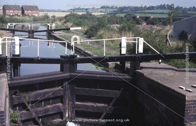 Green's Lock on the Erewash Canal, Larklands, Ilkeston, 1979