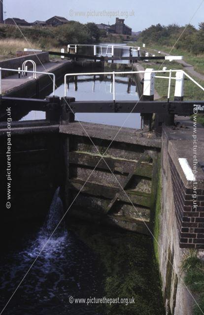 Junction Lock on the Erewash Canal, Stanton Works, 1979