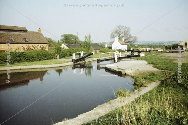 Shipley Lock on the Erewash Canal, Shipley Gate, Shipley, 1987