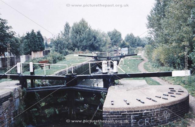 Green's Lock on the Erewash Canal, Larklands, Ilkeston, 1995 ?