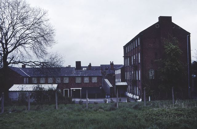 W Ball and Son Ltd's Albion Works, Burr Lane, Ilkeston, c 1983