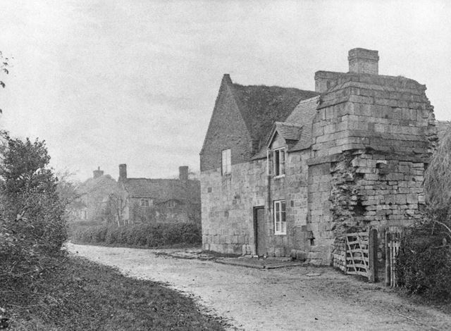 Abbey House, The Village, Dale, c 1900