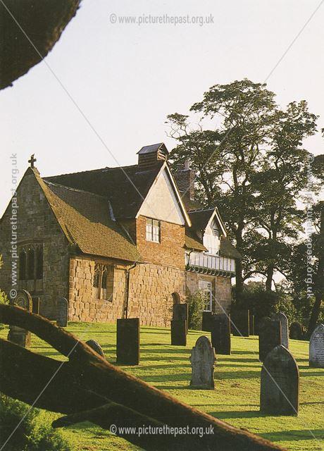 All Saints Church, Dale, c 1986