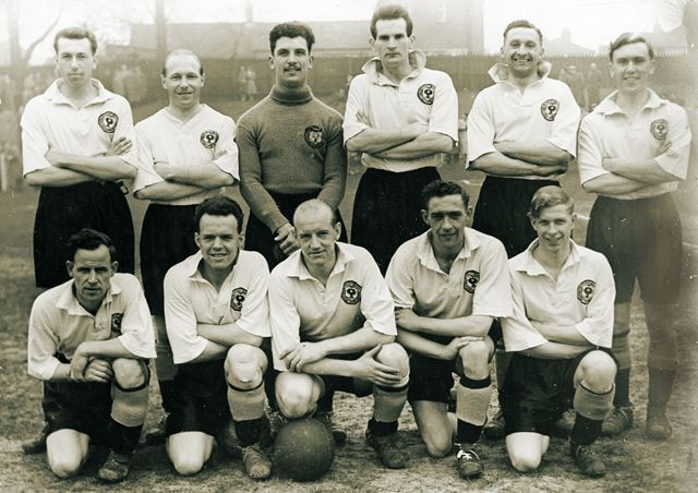 Ilkeston Town's Championship Team, 1953-54