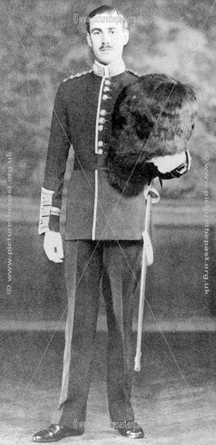 Captain John Drury Boteler Packe-Drury-Lowe, c 1930 ?