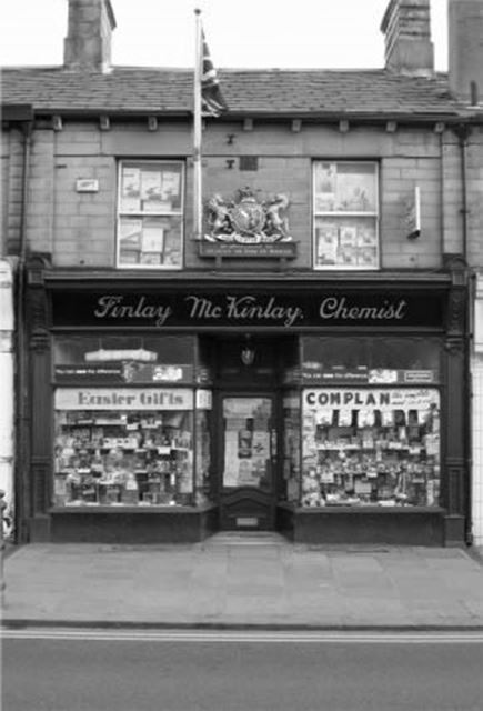Finlay McKinlay, Chemists, High Street West, Glossop, 2005