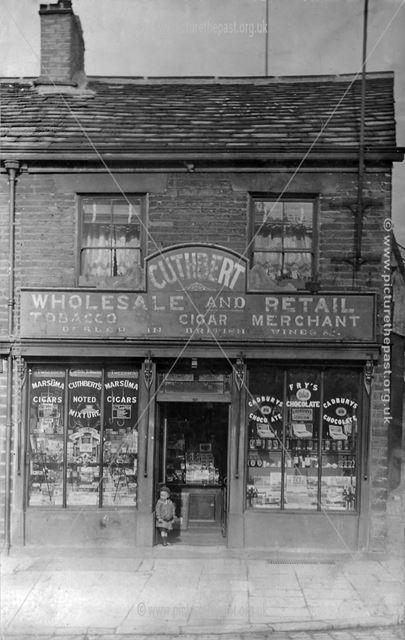 Cuthbert's, 80 High Street West, Glossop, 1904