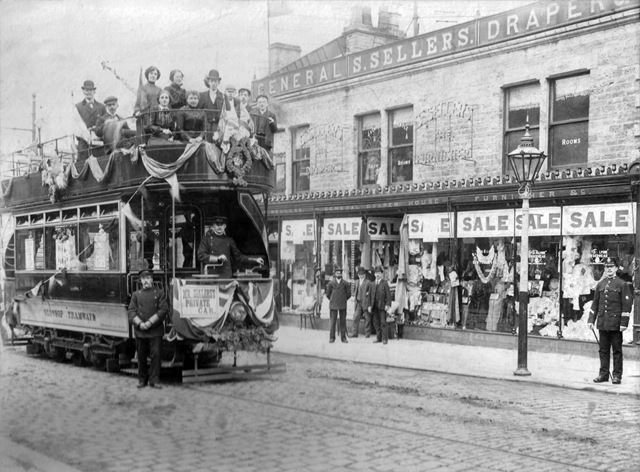Seller's, High Street East, Glossop, c 1903