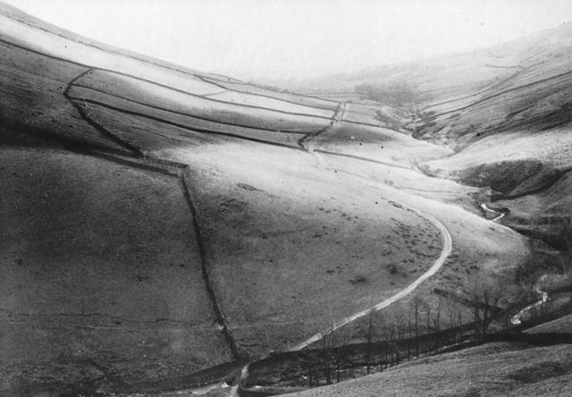 View from the top of Jacob's Ladder, near Edale, c 1920s ?