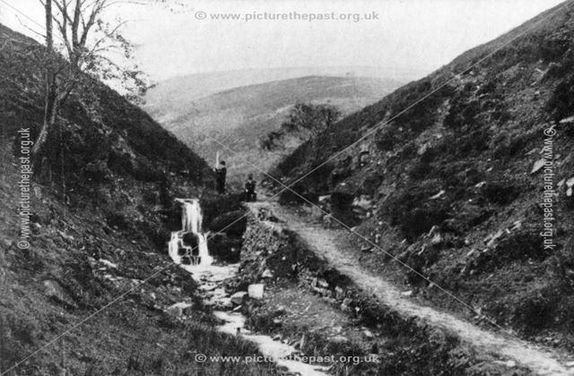 Williams Clough, Kinder Scout, near Hayfield, c 1890-1900s