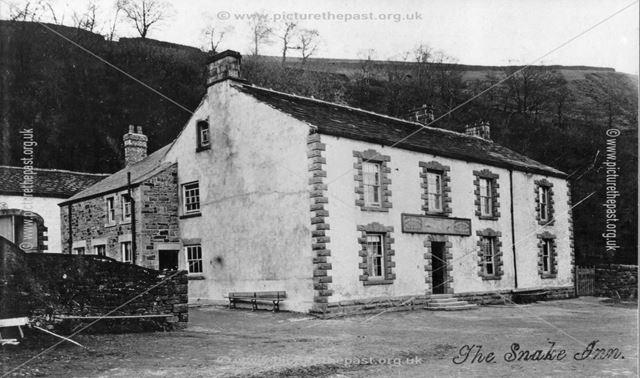 The Snake Inn, Snake Road, High Peak, c 1900s-1910s