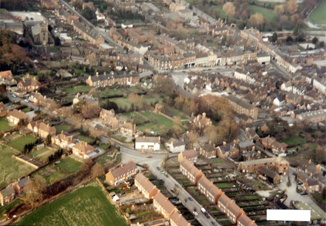 North Ave, Dove House Green and Northcliffe, Aerial Photograph