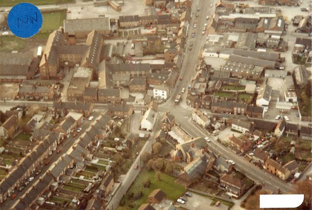 Aerial Photograph, Derby Road, Compton Street and Belper Road