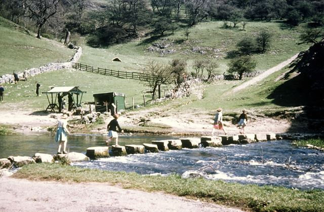 Stepping Stones, River Dove, Dovedale