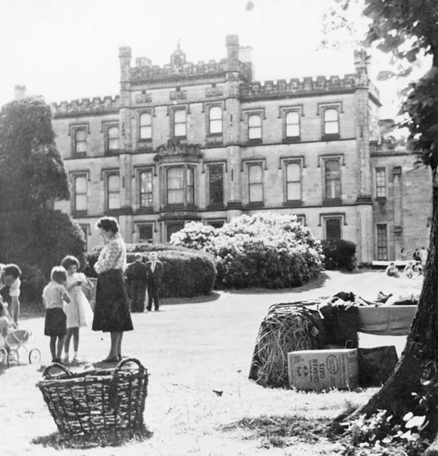 Church Garden Party, Elvaston Castle, 1960s