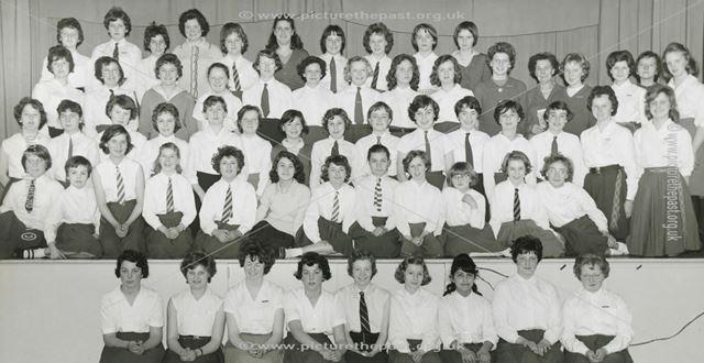 Cavendish School Concert, Cavendish Road, Ilkeston, 1959-1960