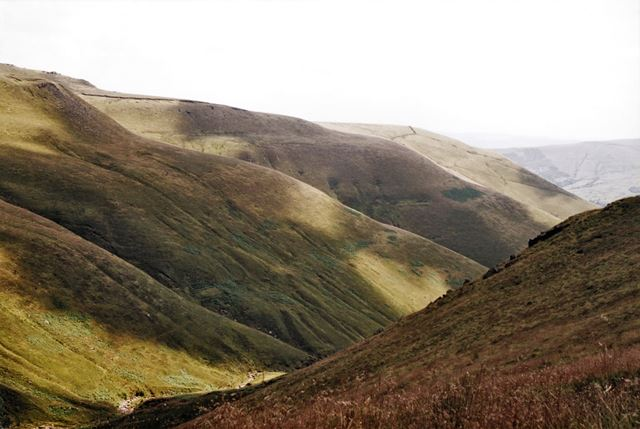 Kinder Scout - Looking towards Grindslow Knoll, off the Jacob's Ladder Path