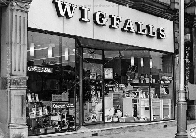 Wigfalls, Buxton Market Place, High Street, Buxton, 1970