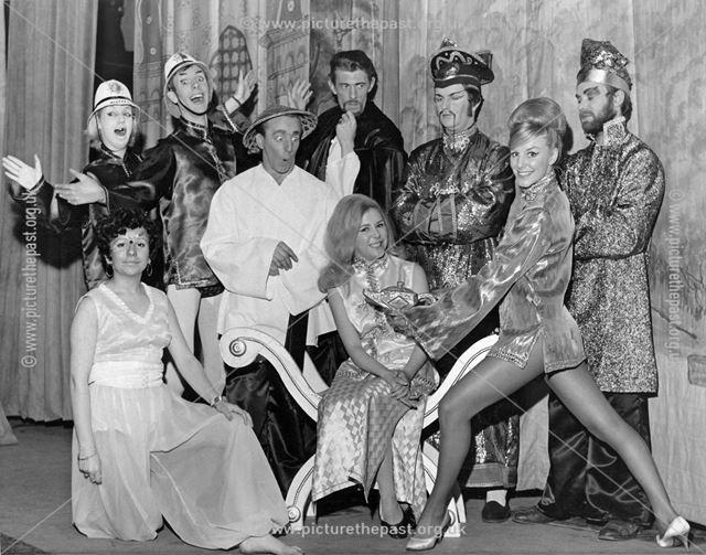 Aladdin at The Playhouse Theatre, Pavilion Gardens, Buxton, 1968