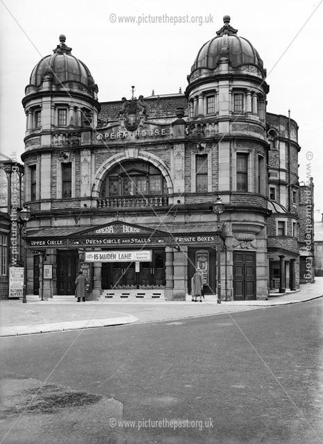 Opera House, Water Street, Buxton, 1937