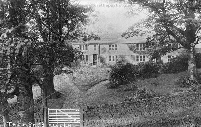 The Ashes, Kinder, Hayfield, Derbyshire, c 1915