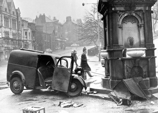 Turner's Memorial, The Crescent, Buxton, 1959