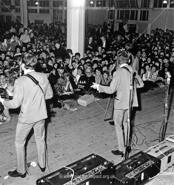 The Beatles, The Octagon, Pavillion Gardens, St John's Road, Buxton, 1963