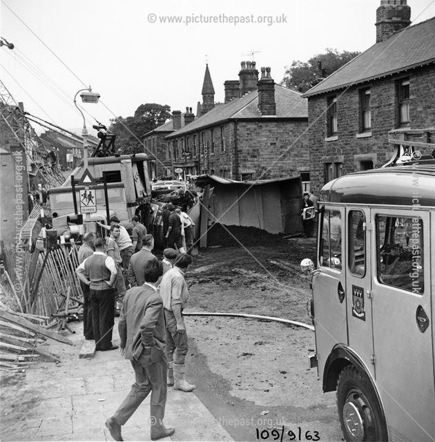 Market Street, Chapel-en-le-Frith, Derbyshire, 1963